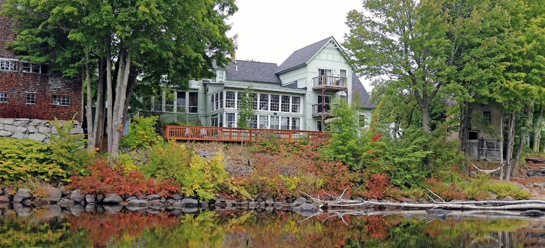 Henniker House In Autumn