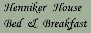 Henniker House B&B